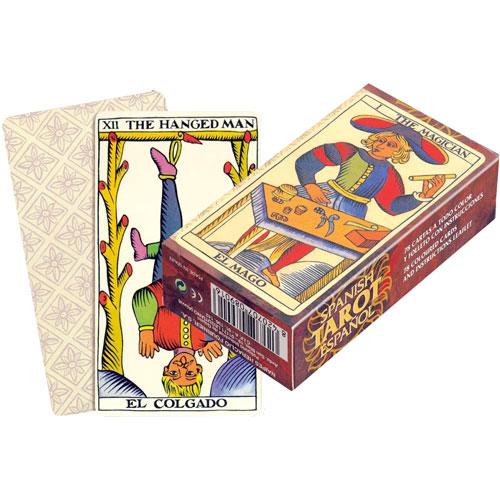 Baraja Tarot español Fournier 78 cartas
