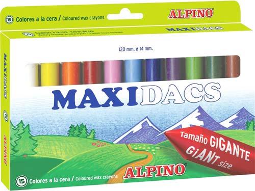 Ceras Maxi Dacs surtidas 15 ud