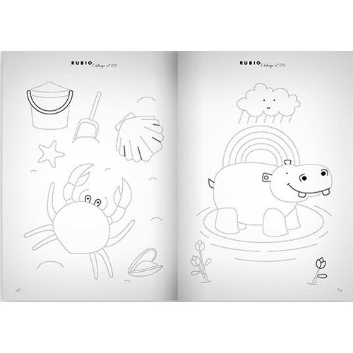 Cuaderno Dibujos Rubio 010 detalle 4