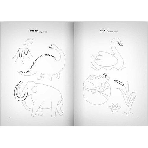 Cuaderno Dibujos Rubio 010 detalle 5