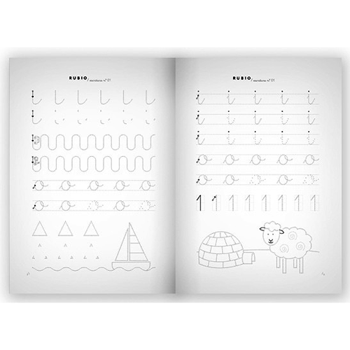 Cuaderno Escritura Rubio 01 detalle 2
