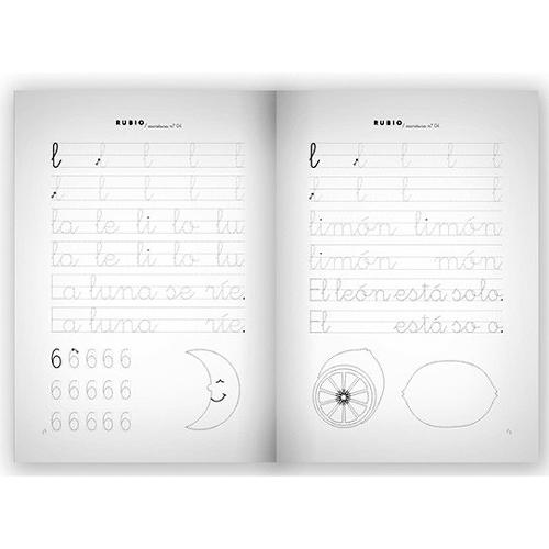 Cuaderno Escritura Rubio 04 detalle 1