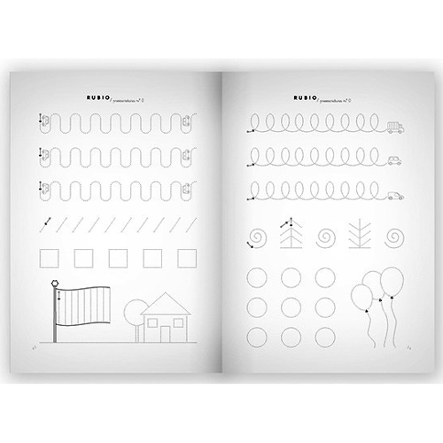 Cuaderno Escritura Rubio 0 detalle 2