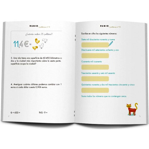 Cuaderno Problemas Rubio 18 detalle 3