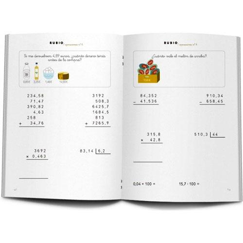 Cuaderno Problemas Rubio 6 detalle 2