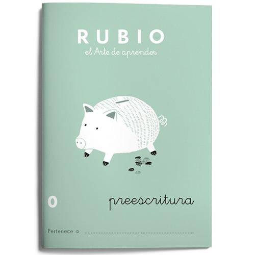 Cuaderno Escritura Rubio 0