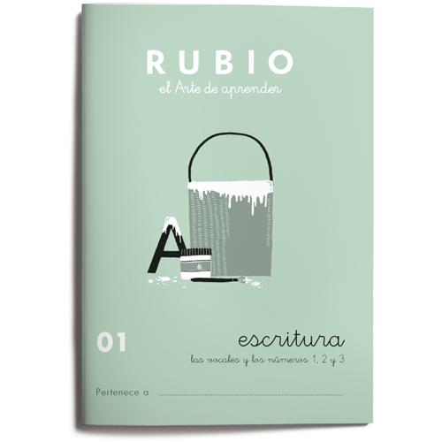 Cuaderno Escritura Rubio 01