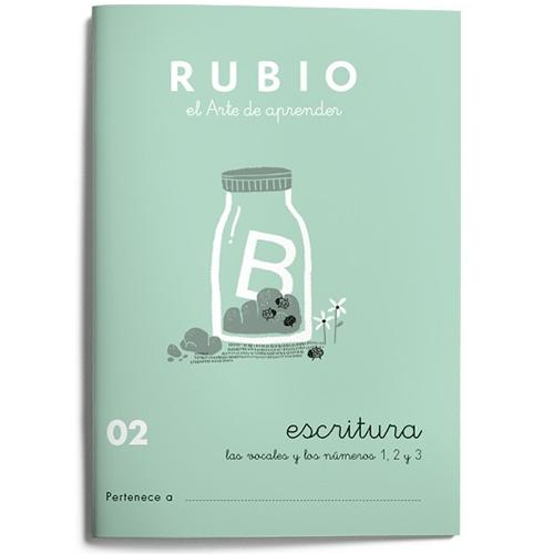 Cuaderno Escritura Rubio 02