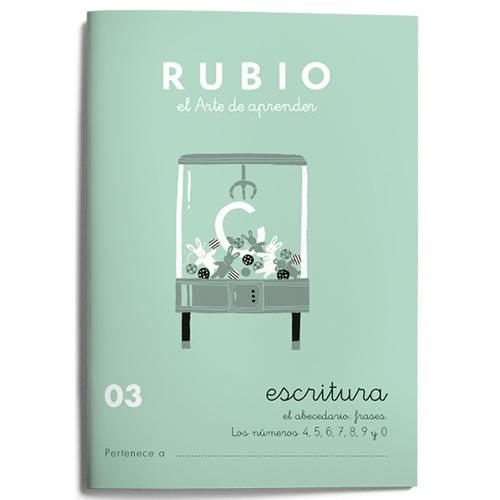 Cuaderno Escritura Rubio 03