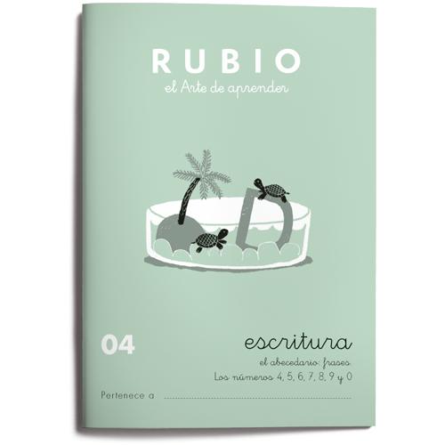 Cuaderno Escritura Rubio 04