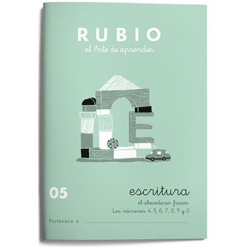 Cuaderno Escritura Rubio 05