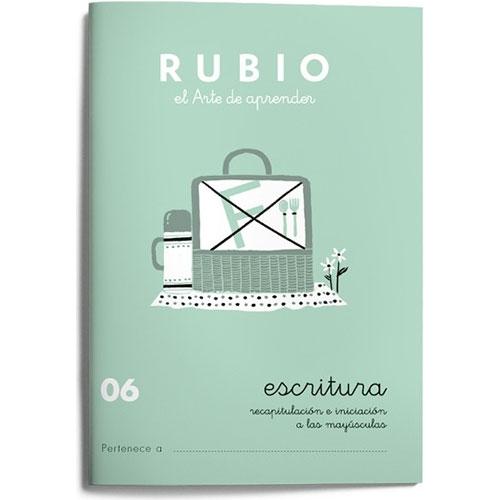 Cuaderno Escritura Rubio 06