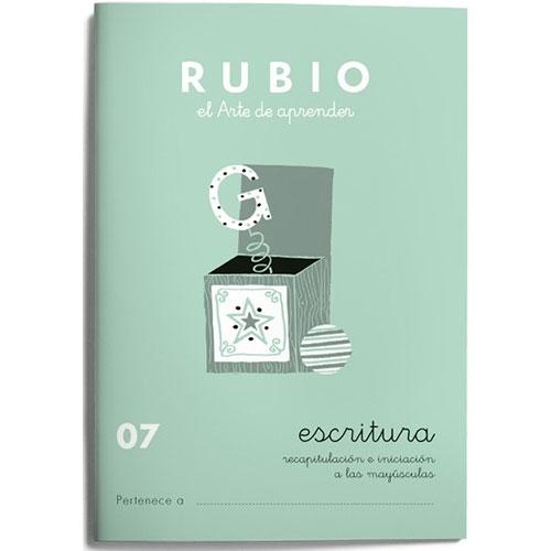 Cuaderno Escritura Rubio 07
