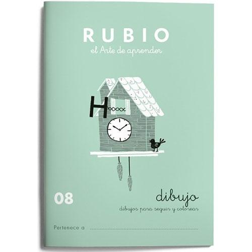 Cuaderno Escritura Rubio 08