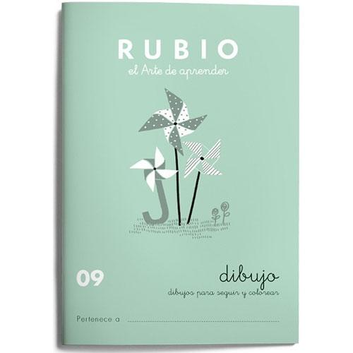 Cuaderno Escritura Rubio 09