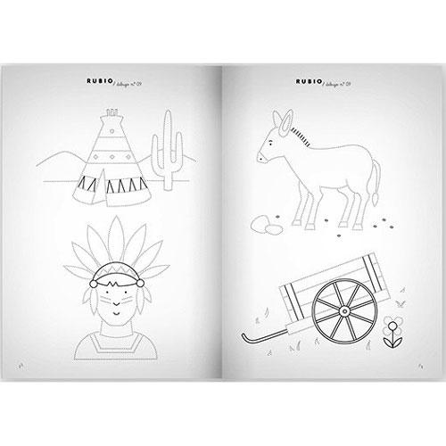 Cuaderno Escritura Rubio 09 detalle 2