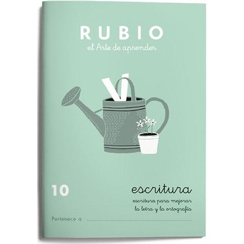 Cuaderno Escritura Rubio 10