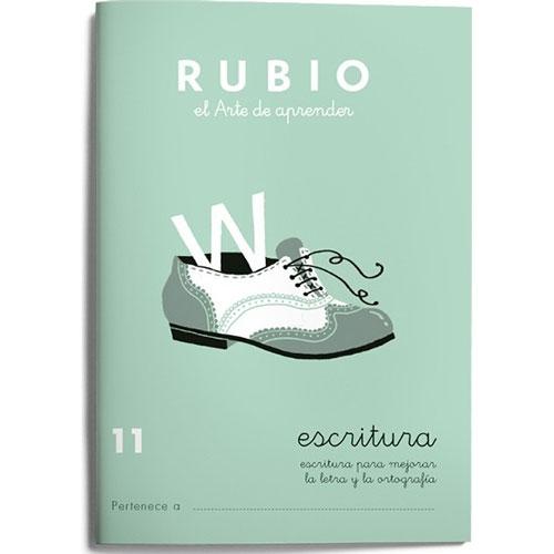 Cuaderno Escritura Rubio 11