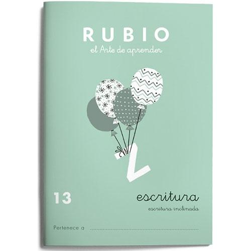 Cuaderno Escritura Rubio 13