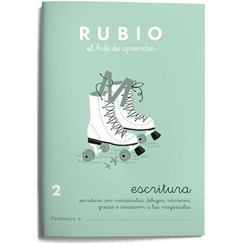Cuaderno Escritura Rubio 2