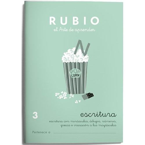 Cuaderno Escritura Rubio 3