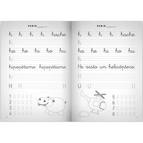 Cuaderno Escritura Rubio 3 detalle 1