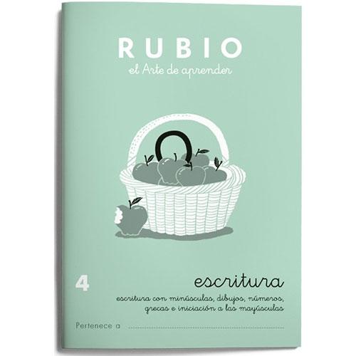 Cuaderno Escritura Rubio 4
