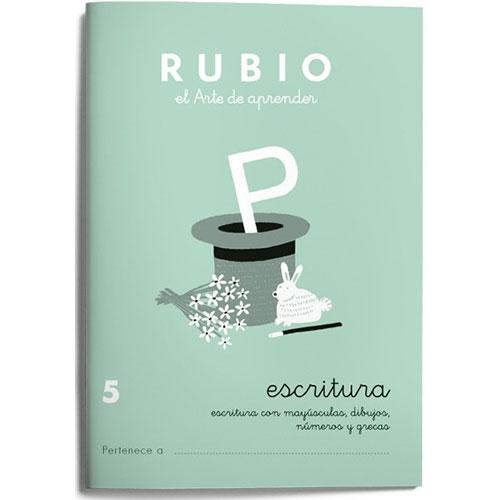 Cuaderno Escritura Rubio 5