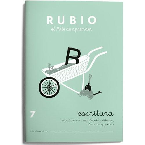 Cuaderno Escritura Rubio 7