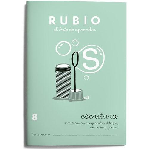 Cuaderno Escritura Rubio 8