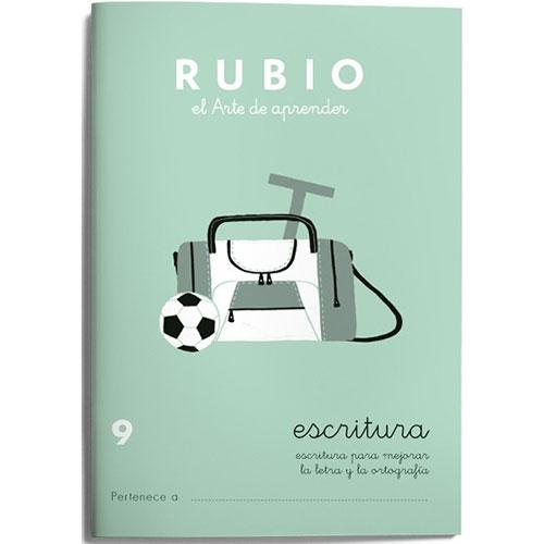 Cuaderno Escritura Rubio 9