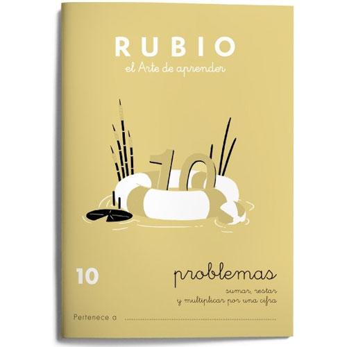 Cuaderno Problemas Rubio 10