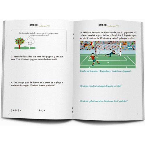 Cuaderno Problemas Rubio 10 detalle 1