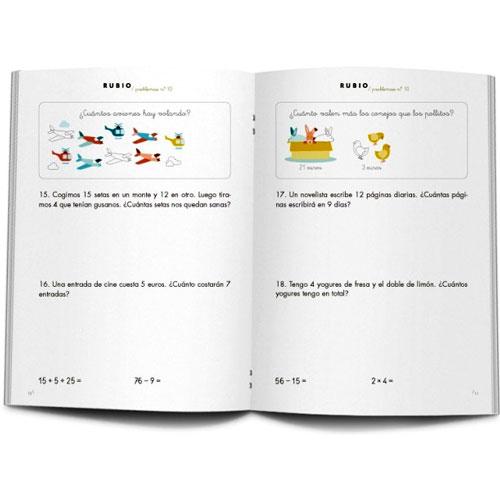 Cuaderno Problemas Rubio 10 detalle 2