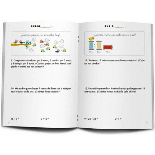 Cuaderno Problemas Rubio 11 detalle 1