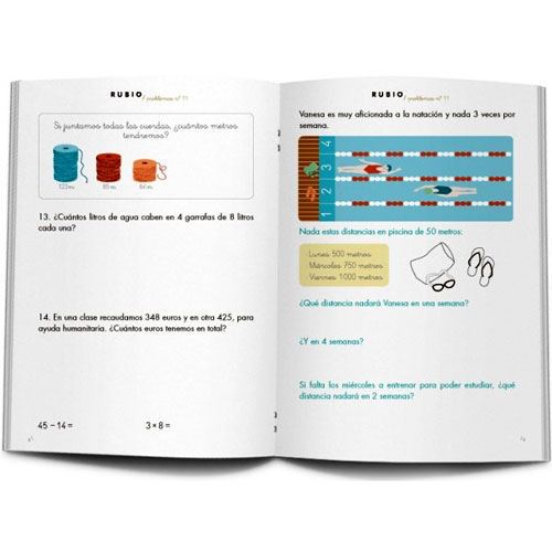 Cuaderno Problemas Rubio 11 detalle 2