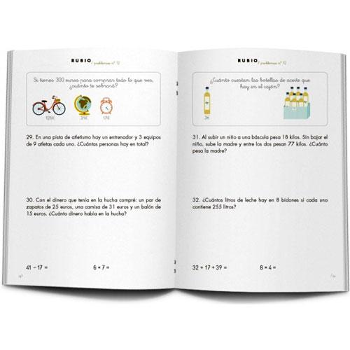 Cuaderno Problemas Rubio 12 detalle 2