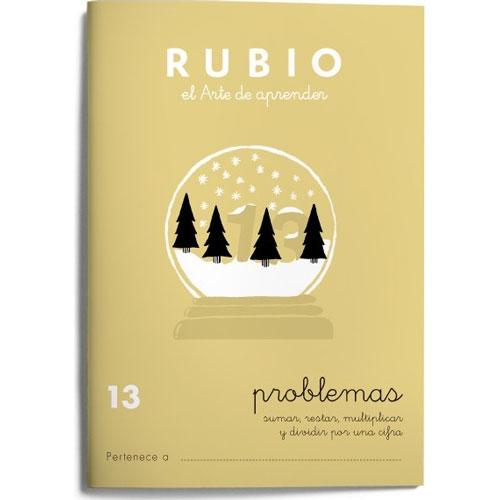 Cuaderno Problemas Rubio 13