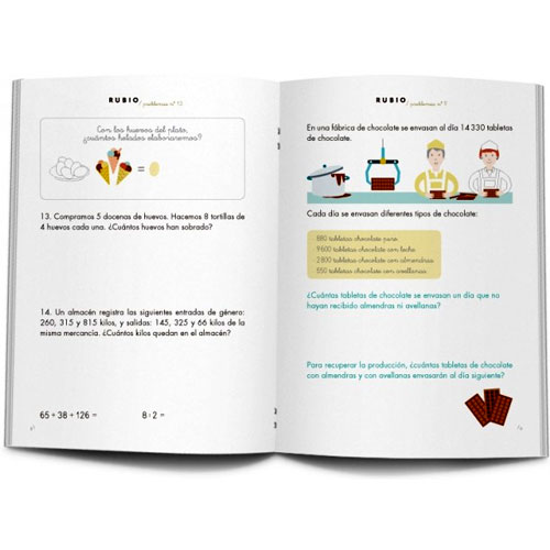 Cuaderno Problemas Rubio 13 detalle 1