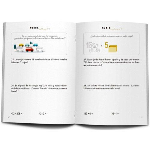 Cuaderno Problemas Rubio 13 detalle 2
