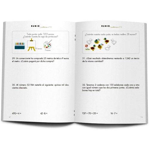 Cuaderno Problemas Rubio 14 detalle 1