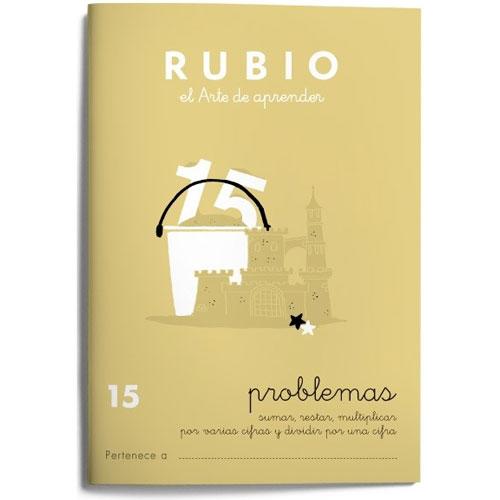 Cuaderno Problemas Rubio 15