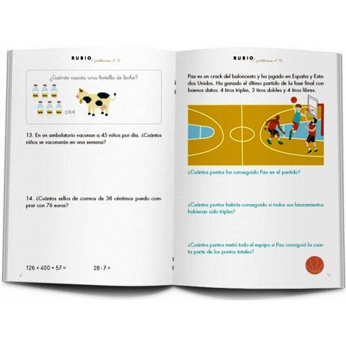 Cuaderno Problemas Rubio 15 detalle 1