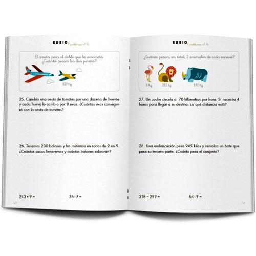 Cuaderno Problemas Rubio 15 detalle 2