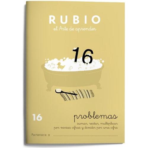 Cuaderno Problemas Rubio 16