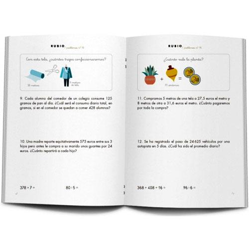 Cuaderno Problemas Rubio 16 detalle 1