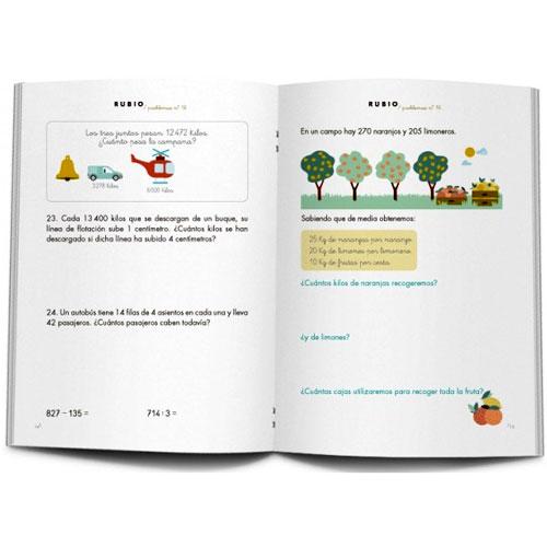 Cuaderno Problemas Rubio 16 detalle 2