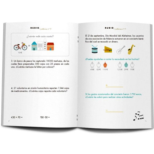 Cuaderno Problemas Rubio 17 detalle 1
