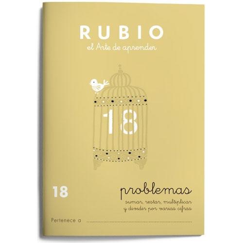 Cuaderno Problemas Rubio 18