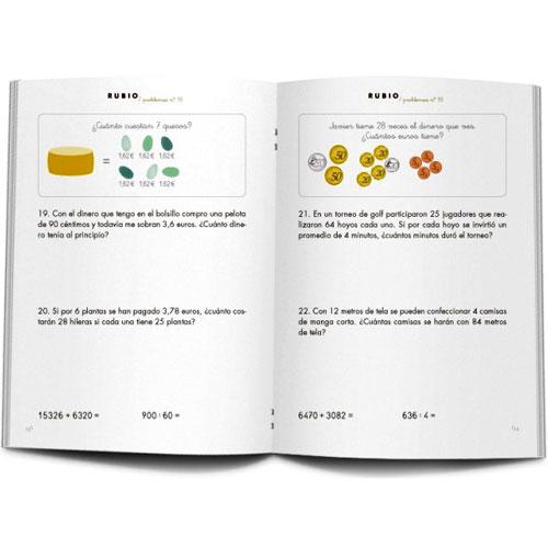 Cuaderno Problemas Rubio 18 detalle 1